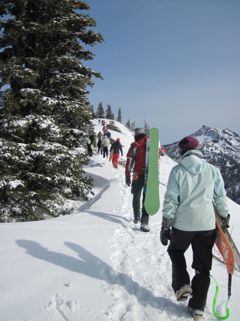 hurricane powder dowhill hike Hurricane Ridge TR goes live!!