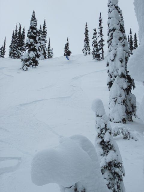 kootpass alan warm up Kootenay Pass BC