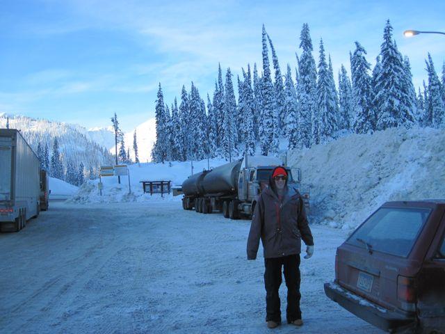 kootpass parkinglot Kootenay Pass BC